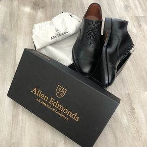 Allen Edmonds Black Park Avenue Oxfords
